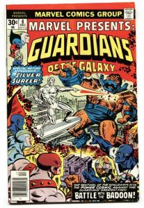 MARVEL PRESENTS  #8 1977-GUARDIANS OF THE GALAXY-Silver Surfer