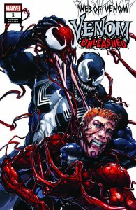 LOT OF 3 Web of Venom - Venom Unleashed #1 Carnage Clayton Crain Variant
