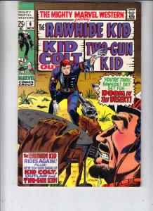 Mighty Marvel Western #6 (Nov-69) VF/NM High-Grade Rawhide Kid, Kid Colt, Two...