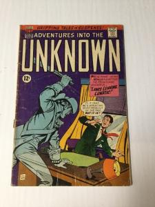 Adventures Into The Unknown 170 3.5 Very Good - Vg- Bottom Staple Detactched