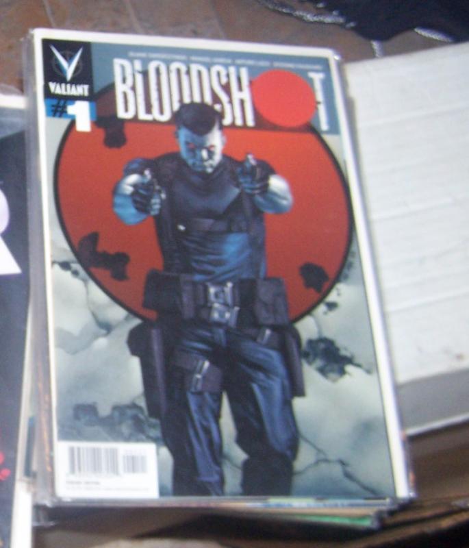 BLOODSHOT #1 2012 VALIANT  VARIANT COVER