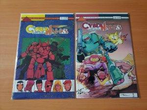 Cyberhawks Tales of Neil's Legend 1-2 Complete Set Run! ~ NEAR MINT NM ~ 1987