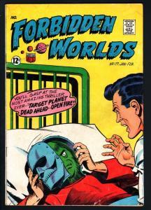 FORBIDDEN WORLDS #117-1963-SILVER-AGE SCI-FI-ACG-G/VG G/VG