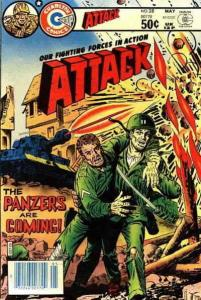 Attack (4th Series) #28 VG; Charlton | low grade comic - save on shipping - deta
