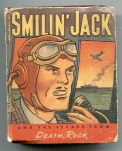 Smilin' Jack the Escape From Death Rock Big Little Book 1943