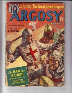Argosy Weekly vol. 290 #1 VG june 10, 1939 - pulp mag - walter ripperger