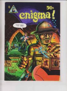 Enigma! #1 VF (1st) ralph reece LARRY TODD last gasp underground comix 1973