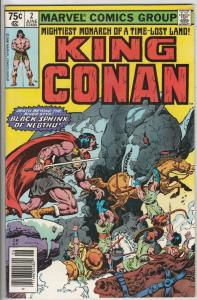 King Conan #2 (Jun-80) VF High-Grade Conan the Barbarian