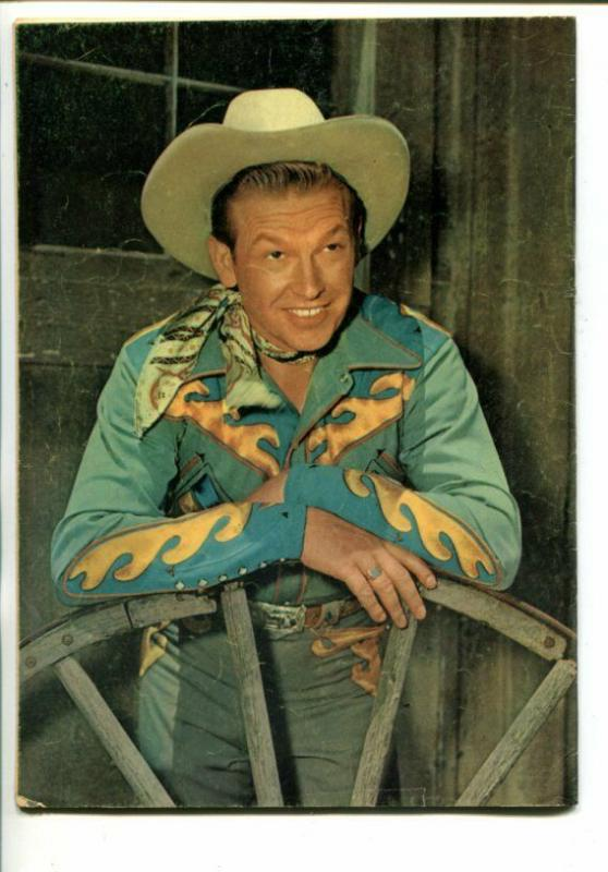 REX ALLEN #7-1953-WESTERN-PHOTO COVERS-vg+