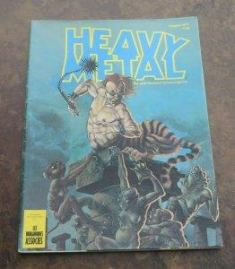 Heavy Metal Magazine #7 VG/FN Moebius Adult ILLustrated Fantasy 1977 Wrightson