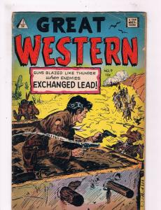 Great Western #9 VG Top Quality IW Comic Book Golden Age DE2