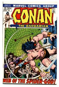 Conan The Barbarian #13 comic book 1972-  Barry Smith -Robert E Howard