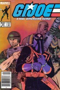 G.I. Joe: A Real American Hero (1982 series) #23, Fine- (Stock photo)