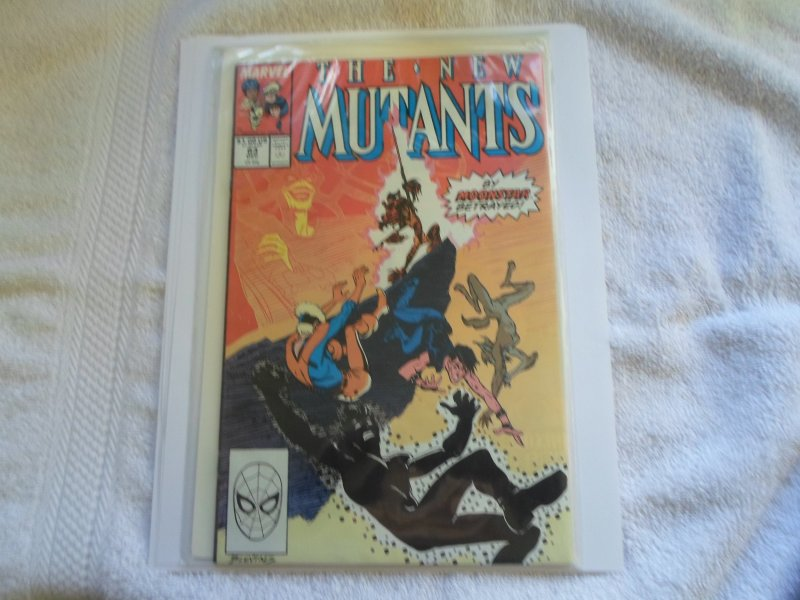 1989 MARVEL COMIC THE NEW MUTANTS # 83