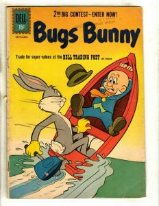 Lot Of 7 Bugs Bunny Dell Comic Books # 80 31 32 65 62 67 32 Looney Tunes JK2