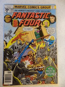 FANTASTIC FOUR # 185 MARVEL BRONZE ACTION THING TORCH VG