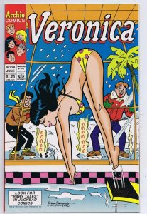 Veronica #28 ORIGINAL Vintage 1993 Archie Comics Bikini Cover GGA Swimsuit