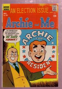 ARCHIE AND ME #25 1968-BETTY-ARCHIE FOR PRESIDENT-RARE-very good minus VG-