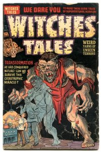 Witches Tales #14 1952- Golden Age horror G/VG