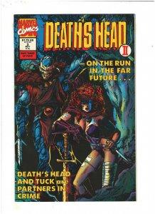 Death's Head II #3 VF/NM 9.0 Marvel UK Comics 1992