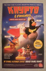 KRYPTO AND FRIENDS Promo Poster, 11x17, 2005, Unused, more in our store