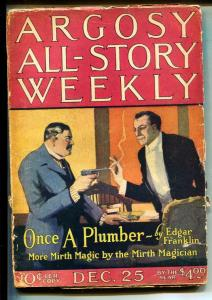 Argosy All-Story Weekly-Pulps-12/25/1920-Edgar Franklin
