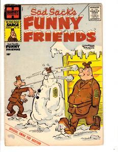 Sad Sack's Funny Friends # 20 FN- Harvey Comic Book George Baker Army Life JL28