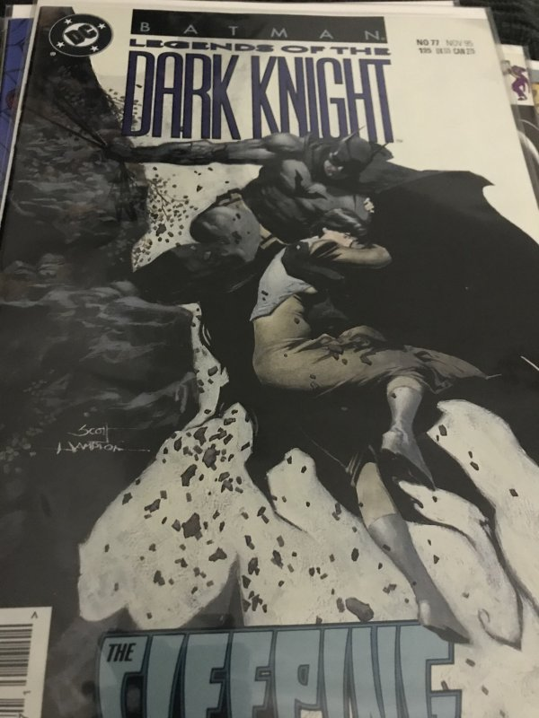 DC Batman Legends of the Dark Knight #77 Mint The Sleeping