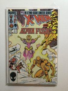 X-Men And Alpha Flight 1 2 Near Mint Nm Marvel