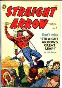 Straight Arrow #5 1950-ME-Fred Meagher-Indian stories-VF