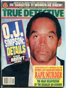 True Detective Magazine Octover 1994- OJ Simpson cover VG