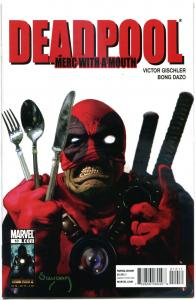 DEADPOOL Merc with a Mouth #10, NM, Suydam, Zombies, 2009, more Marvel in store