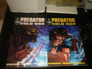 Predator Cold War 1-4 Dark Horse Set