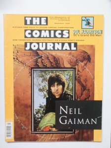 Comics Journal #169 Neil Gaiman + Sol Harrison DC Interview