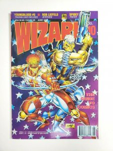 WIZARD #10 Comic Magazine June 1992 Rob Liefeld Cover Art Youngblood Card
