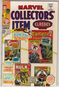 Marvel Collectors' Item #11 (Oct-67) VF High-Grade Fantastic Four, Mr. Fantas...