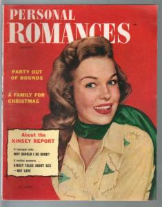 Personal Romances 1/1954-Ideal-exploitation-pulp thrills-posed photos-FN