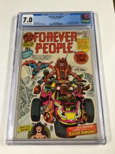 Forever People 1 Cgc 7.5 Dc Comics Ow/w Pages