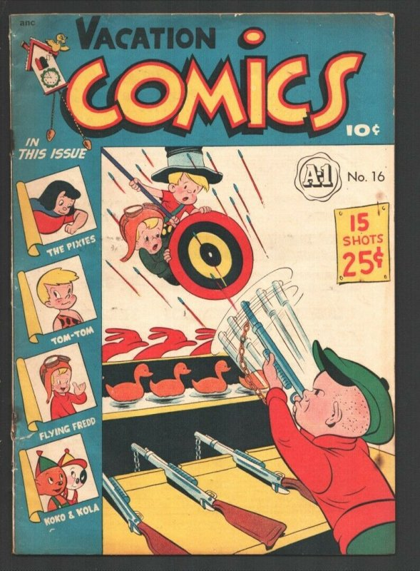 Vacation Comics #16 1948-ME-A-1 Comics -Koko & Kola-Mighty Atom-Pixies-Tom-To...