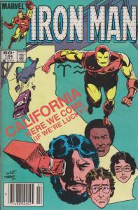 Iron Man (1st Series) #184 (Mark Jewelers) FN; Marvel | save on shipping - detai