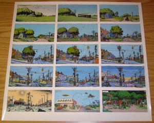 Robert Crumb's A Short History of America poster - 24 x 22 underground 1997