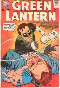 GREEN LANTERN (1960-1988) 36 VG  April 1965 COMICS BOOK