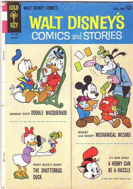 Comics and Stories, Walt Disney's #280 (Jan-64) VG Affordable-Grade Donald Du...