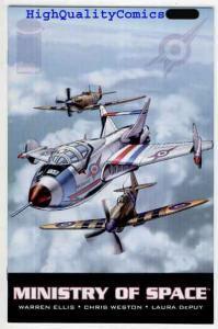 MINISTRY OF SPACE #1, NM+, Warren Ellis, 2001, Weston, Jets, Airplanes
