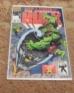 incredible hulk  # 392 1992 marvel  AVENGER  x factor  havoc war & pieces pt  3