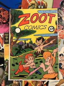 ZOOT Comics #1 VG/F 5.0 fox feature syndicate GOLDEN AGE 1946 funny animals