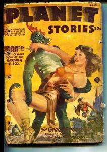 Planet Stories-Pulps-9/1945-Eric Storm-Millard Grimes-Henry Hasse