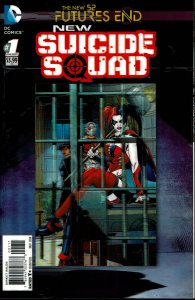 New Suicide Squad #1 - 9.2 or Better - Lenticular Cover