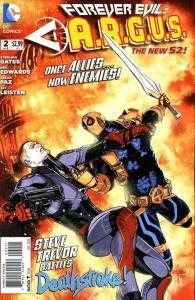 Forever Evil: A.R.G.U.S. #2 VF; DC | save on shipping - details inside
