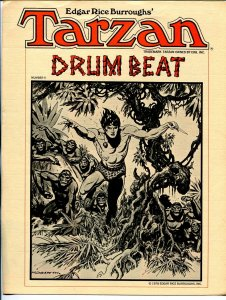 Tarzan Drum Beat #5 1978-ERB Inc-newsletter-movie & comic book info-Hogarth-FN